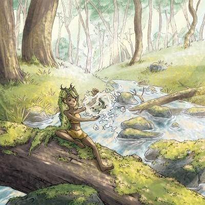 Nymphe de forêt
